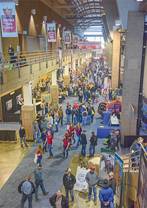 MFA's support of the Western Farm Show will once again be evident as soon as visitors enter the hall, where plenty of banners and signage will feature MFA products and programs.